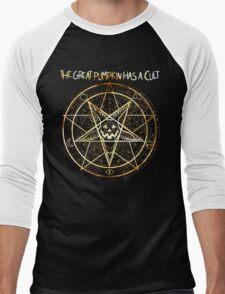 Cult of the Great Pumpkin: Pentagram Men's Baseball ¾ T-Shirt