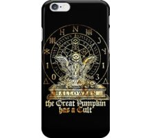 Cult of the Great Pumpkin: Winged Hourglass iPhone Case/Skin