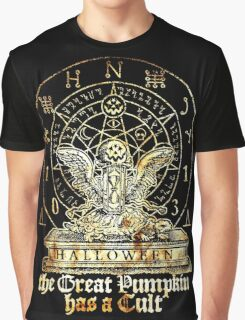 Cult of the Great Pumpkin: Winged Hourglass Graphic T-Shirt