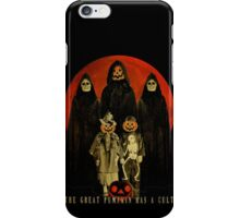 Cult of the Great Pumpkin: Trick or Treat iPhone Case/Skin
