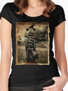 Cult of the Great Pumpkin: Tall Costume Women's Fitted Scoop T-Shirt
