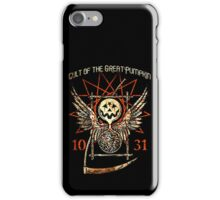 Cult of the Great Pumpkin: Thanatos Hourglass iPhone Case/Skin
