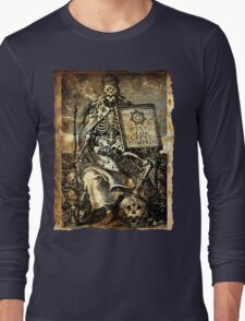 Cult of the Great Pumpkin: Worm King Long Sleeve T-Shirt