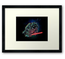 Varth Dader Framed Print