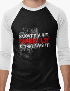 smoked Men's Baseball ¾ T-Shirt