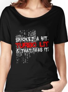 smoked Women's Relaxed Fit T-Shirt