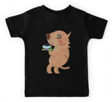 Rodent Thing with a Squirt Gun Kids Tee