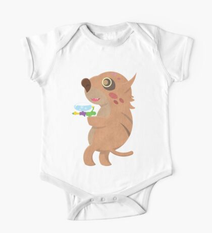 Rodent Thing with a Squirt Gun One Piece - Short Sleeve