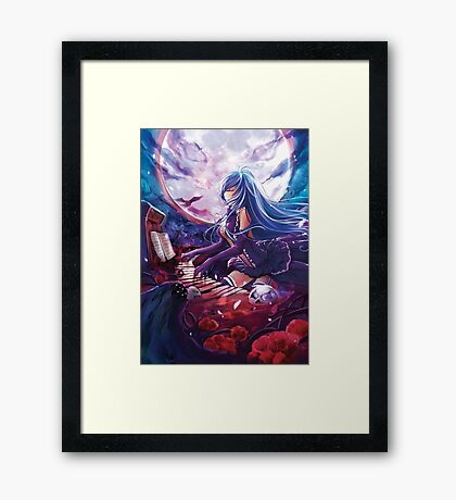 Full Moon Erio Framed Print