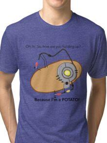 GladOs Potato Tri-blend T-Shirt