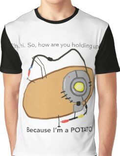 GladOs Potato Graphic T-Shirt