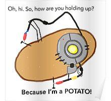 GladOs Potato Poster
