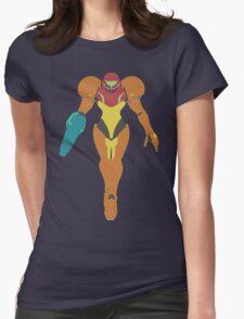 Smash Bros - Samus Womens Fitted T-Shirt