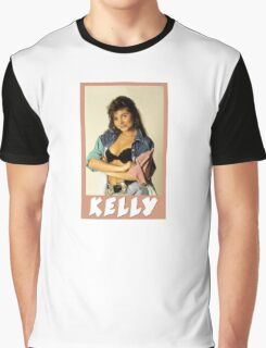Kelly Kapowski Saved by the Bell Graphic T-Shirt