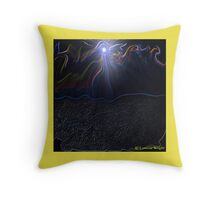 LIVE IN THE RIVER OF LIFE Throw Pillow