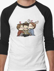 Team Free Will Hug Men's Baseball ¾ T-Shirt
