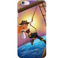 Pirate on the High Seas iPhone Case/Skin