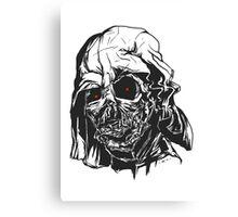 Dead Vader Canvas Print