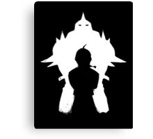 Fullmetal alchemist Elric Brothers  Canvas Print