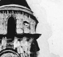 Bell tower Sticker