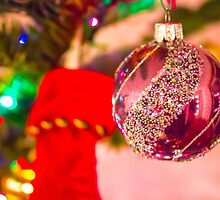 Purple Tree Bauble by DustyHolidays