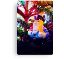 Officer Clause Canvas Print