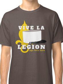 Foreign Legion - Vive la Légion & Képi blanc Classic T-Shirt