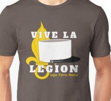 Foreign Legion - Vive la Légion & Képi blanc Unisex T-Shirt