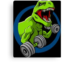 Big Guns Dinosaur Canvas Print