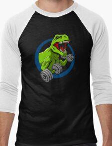 Big Guns Dinosaur Men's Baseball ¾ T-Shirt