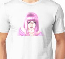 Fuschia Lady Unisex T-Shirt