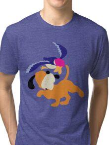 Smash Bros - Duck Hunt Tri-blend T-Shirt