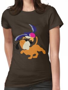 Smash Bros - Duck Hunt Womens Fitted T-Shirt