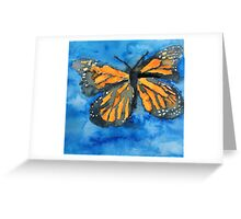 Monarch painting Greeting Card