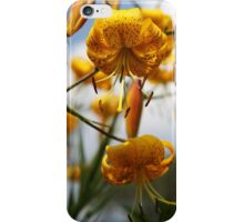 Turk's Cap Lilies iPhone Case/Skin
