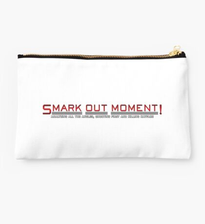 Smark Out Moment Logo (Red) Studio Pouch
