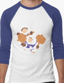 Smash Bros - Ice Climbers Men's Baseball ¾ T-Shirt