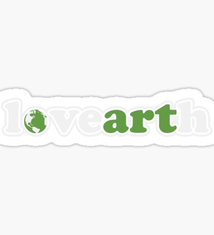 lovearth *green Sticker