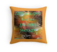 CREATE THE LIFESTYLE YOU'LL LOVE Throw Pillow