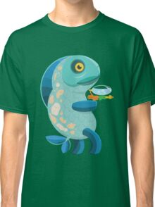Fish Thing with a Squirt Gun Classic T-Shirt
