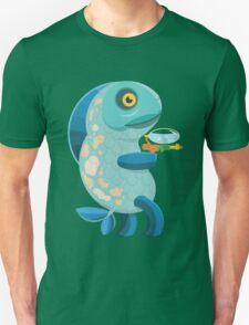 Fish Thing with a Squirt Gun Unisex T-Shirt
