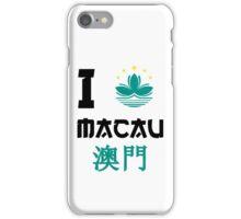 I love Macau iPhone Case/Skin