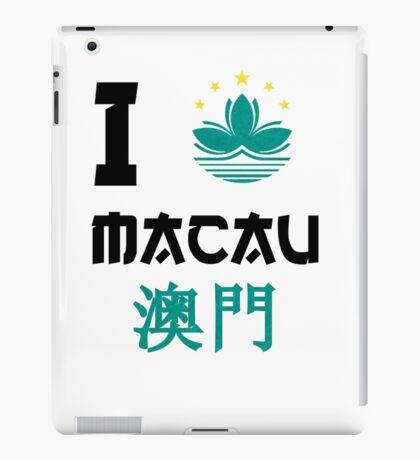 I love Macau iPad Case/Skin