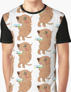 Rodent Thing with a Squirt Gun Graphic T-Shirt