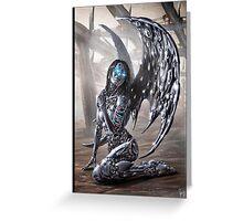 Cyberpunk Painting 022 Greeting Card