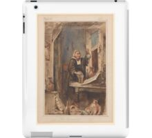 William Makepeace Thackeray, The Alchemist iPad Case/Skin
