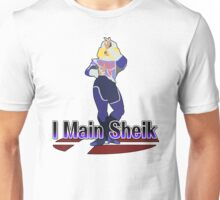 I Main Sheik - Super Smash Bros Melee Unisex T-Shirt