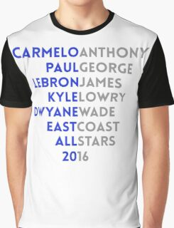 East Coast All-Stars Graphic T-Shirt