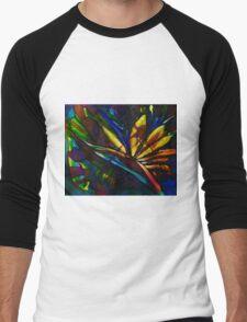 Bird of paradise flower Men's Baseball ¾ T-Shirt