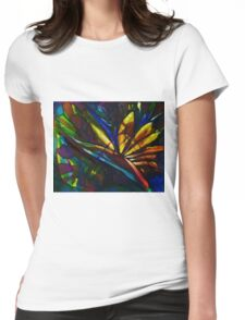 Bird of paradise flower Womens Fitted T-Shirt